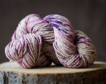 Alpaga teint main violet mauve creme, alpaca hand dyed pink, cramberry, plum