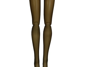Pullip DAL Doll Stockings - Chocolate Mesh - Doll Clothes - 12""