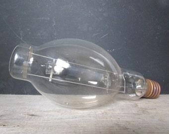 Huge Vintage Lightbulb Industrial Decor