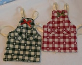 elf clothes apron