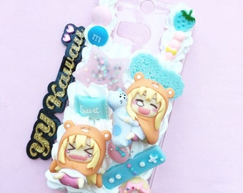 Custom kawaii Umaru Chan inspired decoden Phonecase for Iphone 4/4s 5, 6, 6 plus Samsung Galaxy S2 S3 S4 S5 Note