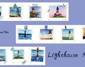 PRe-ORDER++++++++ 1 Roll of Limited Edition Washi Tape: Lighthouse Memo