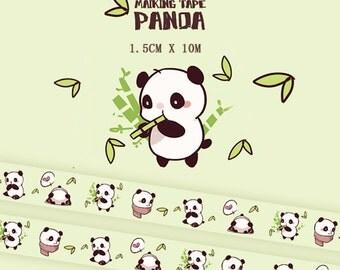 1 Roll of Limited Edition Washi Tape: Panda
