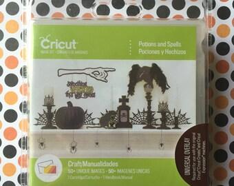 Potions and Spells Cricut cartridge--NEW!!