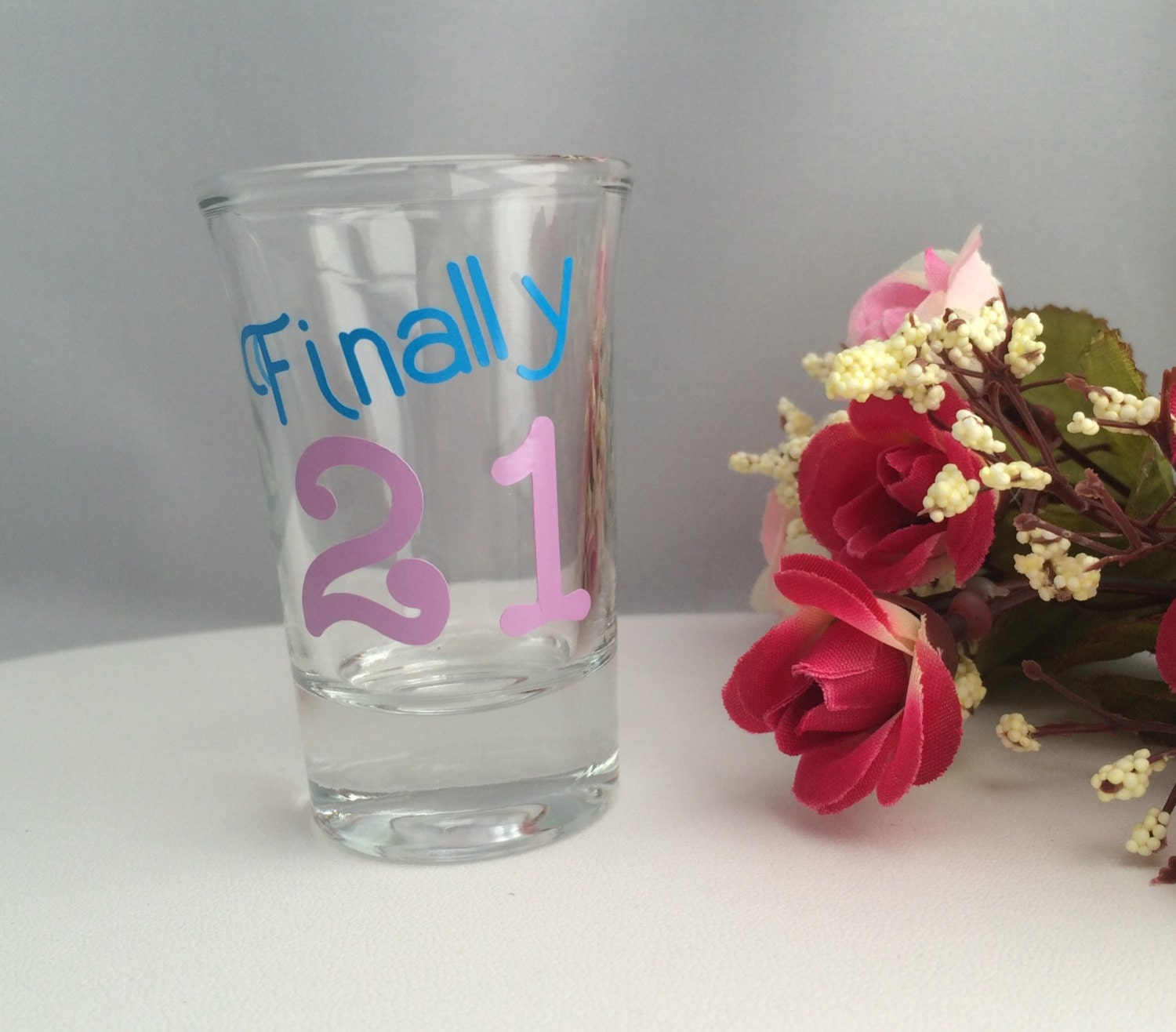 21st Birthday Gifts 21st Birthday Shot Glasses By