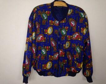 royalty windbreaker jacket size L