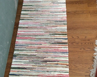 Reversible Striped Runner Rug
