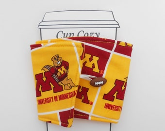 MInnesota Gophers College Coffee Cup Cozy