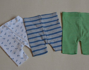 Ready to ship Newborn shorts OOAK stripes or nautical NB photo prop on SALE baby boy