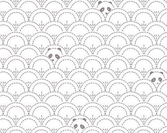Hidden Panda Cottonbud in knit- from Art Gallerys Pandaliciius
