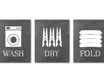 Laundry Art Custom Laundry Room Art  Etsy Design Decoration