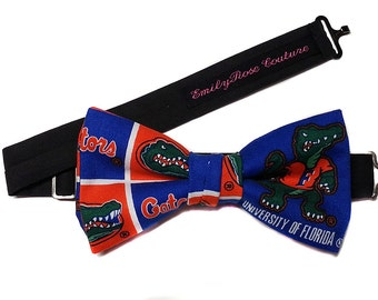 UF Gators Football Bow-tie for Men, Teen, Young Adult.
