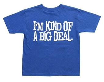 Funny Saying shirt for kids boys tee youth size
