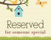 Special Order for Michaela