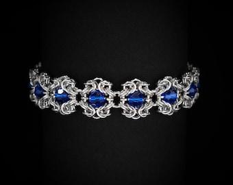 Blue Royal Ricardo Bracelet | silverplated