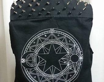 Sakura Card Captor Sakura's pentagram punk vest