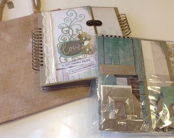 "Kit Premade Wedding Album  11"" x 11"" inches"