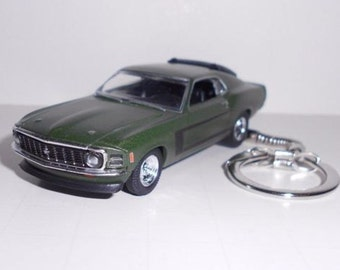 1970 Ford Mustang Key Chain