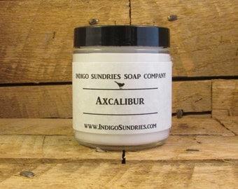 Axcalibur Body Lotion for Men // Handmade Lotion for Real Men // Paul Bunyan // Evergreen Spruce Cedar Cinnamon // Lumberjack