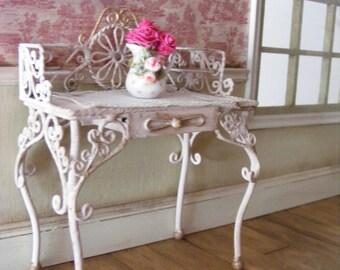 Romantic dressing table