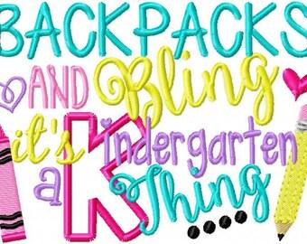 Back to School - Kindergarten - Customized Tee Shirt - Customizable