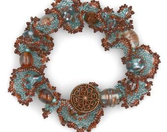 Beaded Lace Bracelet