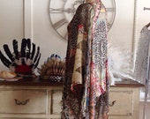 Womens Tribal Style Print Kimono.Free Size.