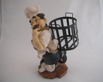 Fat Italian Chef, Happy Chef, Kitchen Decor