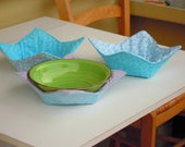 Reversible microwave bowl potholder DYI tutorial - instant download - super easy ENGLISH