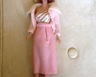 Vintage Barbie 1958 Doll Midge 1962 Fashion Clothing Mattel Toy