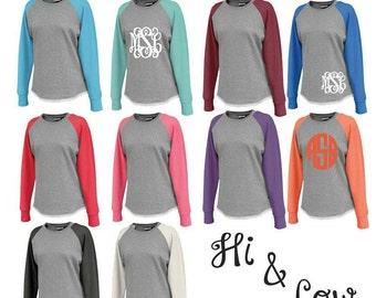 Tunic hi and low sweatshirts