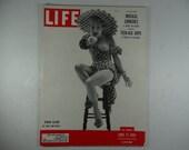 "1951 Life Magazine, June 11,  Vivian Blaine in ""Guys and Dolls"""