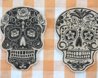 Dia De Los Muertos Patches - You Choose