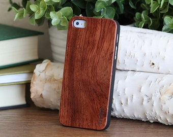 Wood iPhone SE Case, Quality Wooden iPhone SE Cover - CBR5-SE