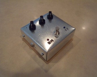 Face Fuzz stacked with Rangemaster Dual Pedal