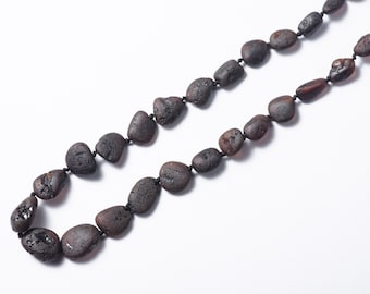 Raw Baltic Amber necklace for mommy.