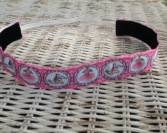 Girls Ballet Headband - Pink Dance Headband