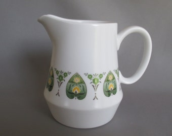 Noritake Progression China Palos Verde cream sauce pitcher creamer 8 oz EXCELLENT CONDITION pattern #9020 gravy jug NICE