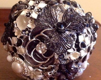 Custom Brooch Bouquet Wedding Bouquet Made To Order