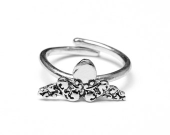 Octopus Sterling Ring