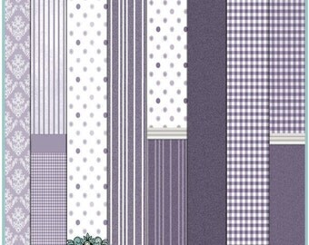 Dollhouse Printable Wallpaper Set 04