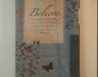 Religious Shower Curtain Spiritual For Your Bathroom