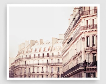 Paris photography - Paris facade,Paris photo,Fine art photography,Paris decor,8x10 wall art,white,Fine art prints,Art Posters,Paris art
