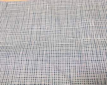 Tablecloth white teal checkered small Lines Striped Modern Scandinavian Design , napkins , runner , curtains napkins , great GIFT