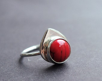 Handmade streling silversilver ring
