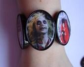 Beetlejuice stretch image bracelet
