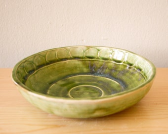 Moss Green Salad Bowl