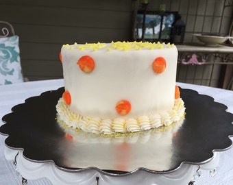 LOCAL LISTING ONLY-no shipping! 6 Inch Buttercream Cake: Serves 6-10