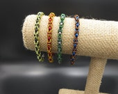 Harry Potter Themed Chainmaille House Bracelets
