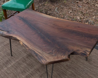 Coffee Table, Rustic Coffee Table, Industrial Coffee Table, Live Edge Table, Live Edge Coffee Table, Wood Table Dallas DELIVERY/PICK UP only